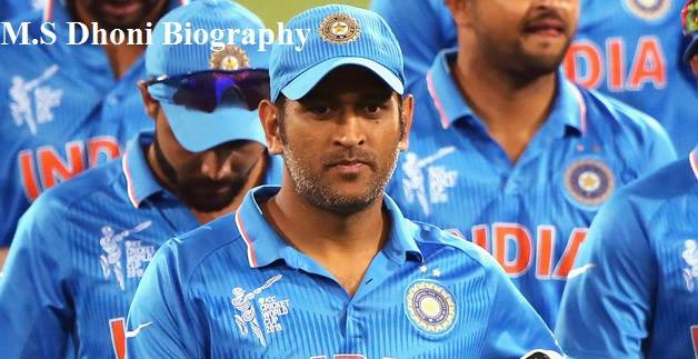 ms dhoni short biography in hindi