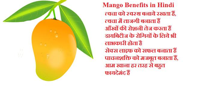 Mango benefits in hindi aam khane ke fayde