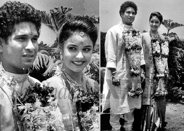 sachin marriage rare photos
