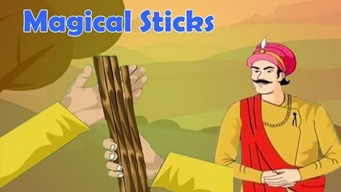 The Magical Stick - Akbar and Birbal Magical Sticks Story in English