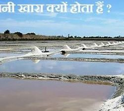why ocean water in salty in hindi, samdra ka paani khara kyon hota hai
