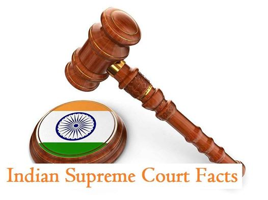 indian supreme court facts in hindi me
